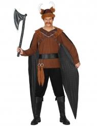 Disfarce guerreiro viking homem