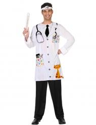 Disfarce veterinário adulto