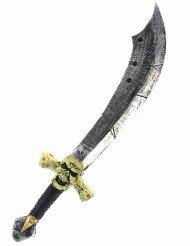 Espada pirata luxo 69 cm - adulto e criança