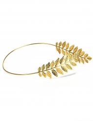 Coroa de louros dourada adulto