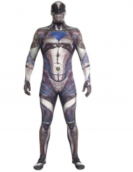 Disfarce macacão preto Power Rangers™ deluxo adulto Morphsuits™