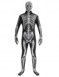 Disfarce esqueleto adulto Morphsuits™ Dia de los muertos