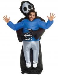 Disfarce de homem transportado pelo Senhor da Morte Morphsuits™ Halloween