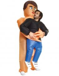 Disfarce homem nos braços de um nudista adulto Morphsuits™