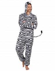 Disfarce de Zebra homem