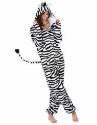 Disfarce de Zebra para mulher