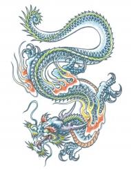 Tatuagem temporária dragão adulto