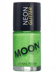 Verniz verde fosforescente com brilhantes 15 ml Moonglow © adulto