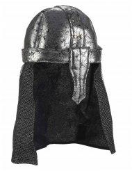 Capacete cavaleiro guerreiro macio - adulto