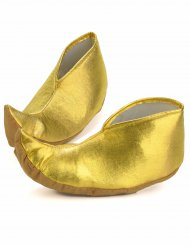 Sobre-sapatos dourados sultão - adulto