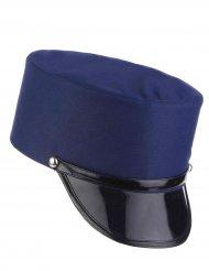 Chapéu azul soldado - adulto