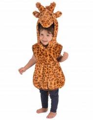 Disfarce girafa sem mangas criança