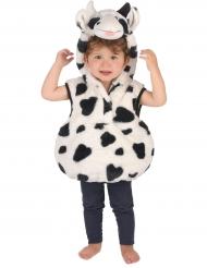 Disfarce vaca criança