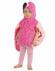 Disfarce flamingo rosa para criança