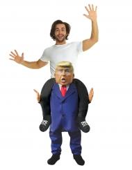 Disfarce homem nos ombros do presidente americano adulto Morphsuits™