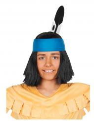 Peruca Yakari™ criança
