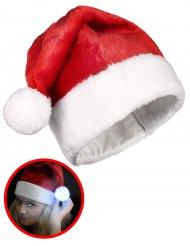 Gorro com pompom luminoso Natal