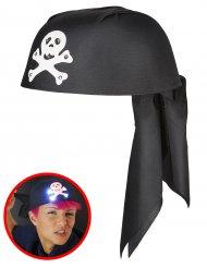 Bandana luminosa pirata