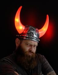 Capacete viking luminoso adulto