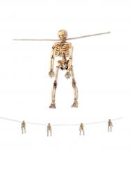 Grinalda esqueletos Halloween
