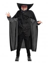 Disfarce cavaleiro sem cabeça menino Halloween