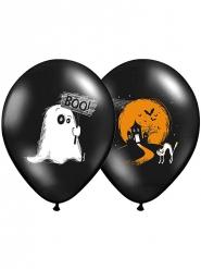 6 Balões Halloween Boo