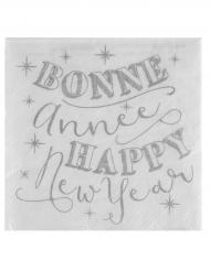 20 Guardanapos de papel Happy New Year