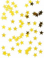 Confetis de mesa estrelas douradas