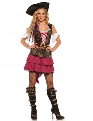Disfarce pirata sexy barroca - mulher