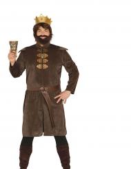Disfarce rei medieval homem