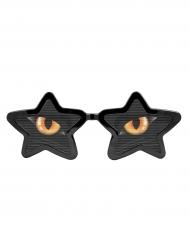 Óculos XXL com olhos de gato adulto