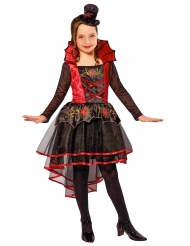 Disfarce vampira vitoriana menina Halloween