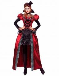 Disfarce vampira vitoriana mulher Halloween
