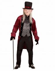Disfarce vampiro vitoriano homem Halloween