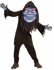 Disfarce senhor da morte cabeça grande adolescente Halloween