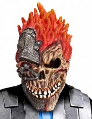 Máscara crânio cibernáutico para adulto Halloween