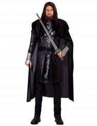 Disfarce cavaleiro gótico adulto