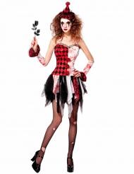 Disfarce arlesuim maléfico mulher Halloween