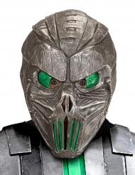 Máscara galáctica verde para adulto