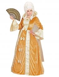 Disfarce vestido veneziano luxo mulher