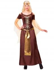 Disfarce rainha viking mulher