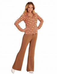 Camisa groovy retro anos 70