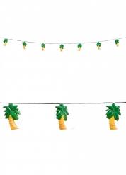 Grinalda luminosa palmeiras