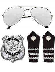 Kit acessórios polícia adulto