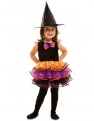 Disfarce bruxa fantasia menina Halloween