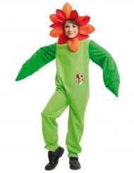 Disfarce flor joaninha criança