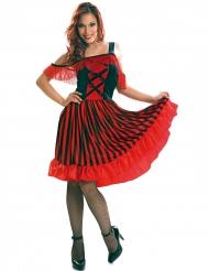 Disfarce dançarina andaluza mulher