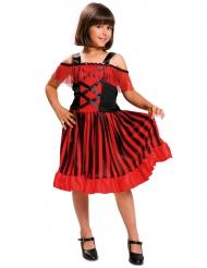Disfarce dançarina andaluza menina