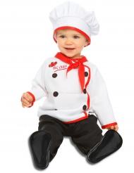 Disfarce cozinheiro chefe bebé
