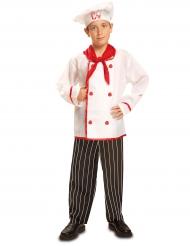 Disfarce cozinheiro menino